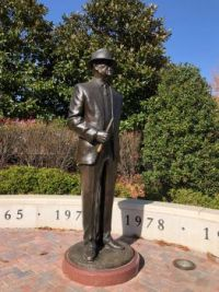 Bear Bryant Statue in Tuscaloosa