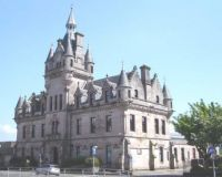 Sheriff Court in Greenock, Scotland