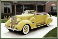 1936 Hudson Deluxe Eight Convertible