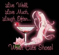 wear cute shoes will be......