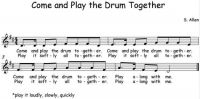 Come and Play the Drum Together