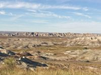Morning Light In Badlands National Park