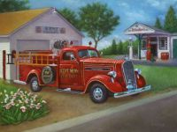 Wheeler Fire Truck