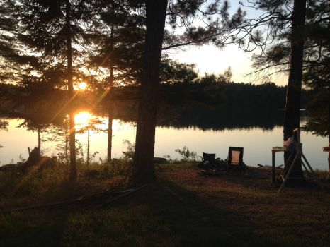 Canadian Crown Land Camping