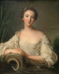 Jean-Marc Nattier Louise Henriette de Bourbon-Conti (1726?1759), Later Duchesse d'Orléans circa 1759
