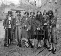 Women's rifle team at the Drexel Institute in 1925