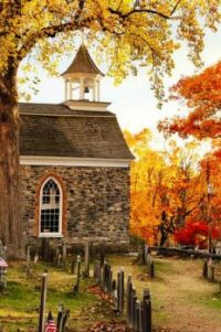 The Old Dutch Church of Sleepy Hollow...