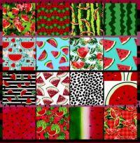 Watermelon Collage Challenge