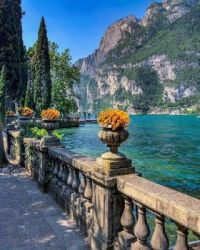 North of Verona, Lake Garda, Italy  6009