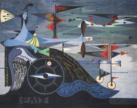 Oscar Domínguez: Eolo, 1950