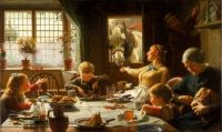 One of the Family by Frederick George Cotman 1880