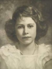 Queen Elizabeth II as a young Girl