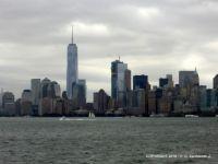 USA – New York – Skyline - View from Staten Island Ferry
