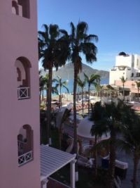 View from our room. Cabo San Lucas, MX