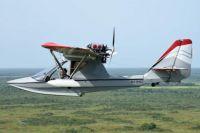 Seaplane in Flight