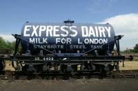 SR 6 Wheeled Milk Wagon.