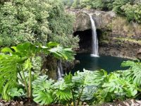 Hawaii waterfall