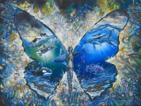 """1  ~  """"Two Worlds Papillon"""""""