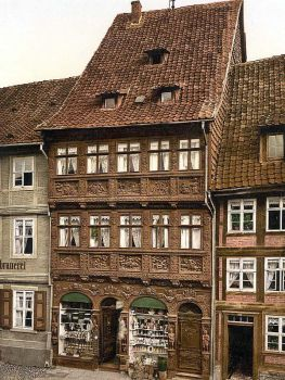 Old House, Wernigerode, Hartz, Germany