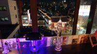Sensou-ji Temple from a jazz club