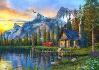 3-sunset-at-log-cabin-