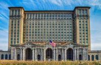 Michigan Central Train Station, Detroit, USA