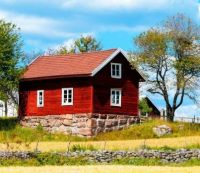 Little Red House in Norway.....