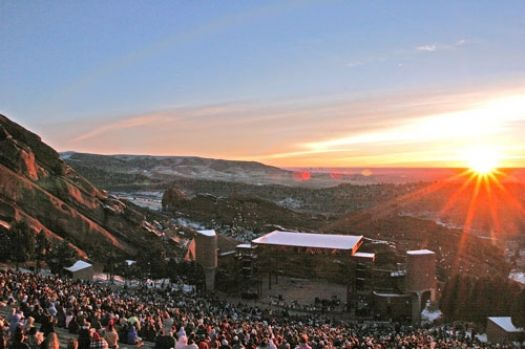 Red Rocks - Easter Sunrise