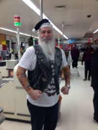 Bad Santa in Sainsburys