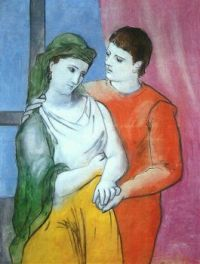 Lovers_Picasso, 1923
