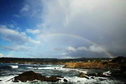 Mendocino Coast in california