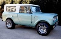 1966 international scout 800 4x4 travel top