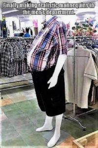 Middle Age Male Mannequins