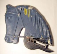 Old Park Swing Horse Head