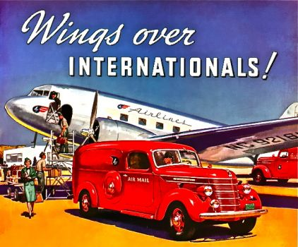 MAIL TRUCK - INTERNATIONAL 39 WINGS