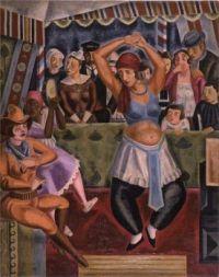 Shimizu Toshi  (1887-1945) - Russian Dance, 1926