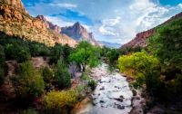 Zion, River and Mount
