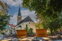 The Roman Catholic parish church of Gumpoldskirchen