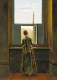 Caspar David Friederich  Woman at the window.