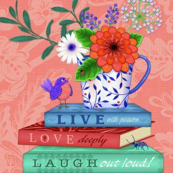 live, Love, Laugh out loud!