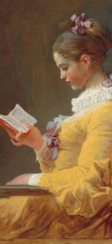 "Fragonard - ""Young Girl Reading"""