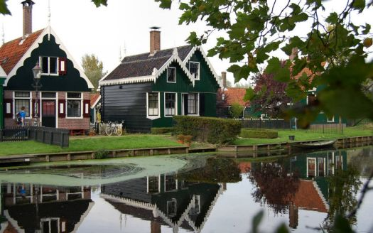 Zaandam-Zaanse Schans. The Netherlands.