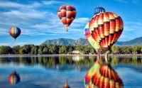 Balloons Over Prospect Lake Colorado