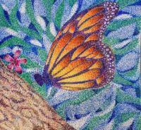 Butterfly Pointillism