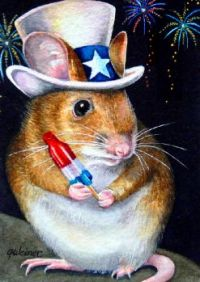 Independence Day Mouse