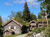 Old houses in Funäsdalen