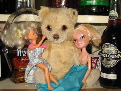 "Oh dear, Growly has been to see ""Ted"" the movie...."