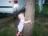 Tree hugging Hayven -