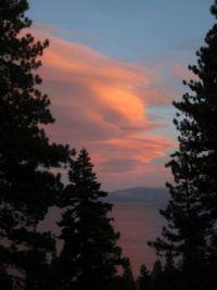 Sunset - Lake Tahoe