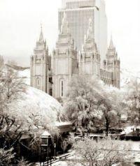 Temple grounds in Salt Lake City, Utah